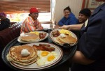 Denny's Offers Free Breakfast In Effort To Aggressively Promote Sales : News Photo CompEmbedShareAdd to Board Denny's Offers Free Breakfast In Effort To Aggressively Promote Sales