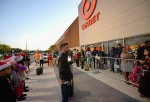 Guests waiting in line to shop Black Friday deals at Target Dadeland South in Miami were surprised by Telemundo host, Jorge Bernal and a group of caroling kids at the Black Friday at Target Dadeland South in Miami at Target Dadeland South on Nov. 27, 2014